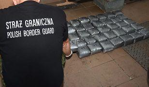 Straż Graniczna zabezpieczyła 50 paczek z narkotykami