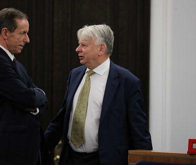 Senator Tomasz Grodzki i wicemarszałek Bogdan Borusewicz