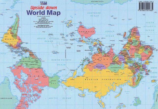Australia - odwrócony pępek świata