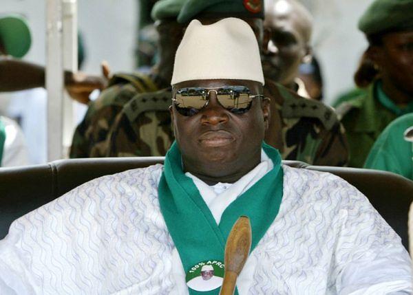 Prezydent Gambii Yahya Jammeh