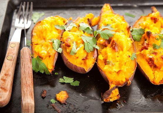 Słodkie ziemniaki - zdrowsze od zwykłych