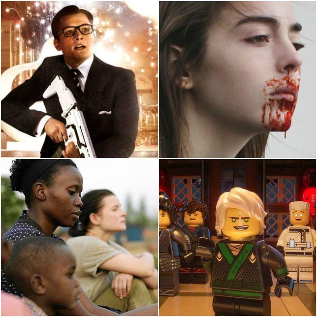 """Na co iść do kina? """"Kingsman: Złoty krąg"""", """"Mięso"""", """"Ptaki śpiewają w Kigali"""", """"LEGO® NINJAGO: FILM"""""""