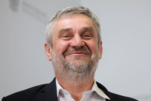 Minister rolnictwa, Jan Krzysztof Ardanowski.