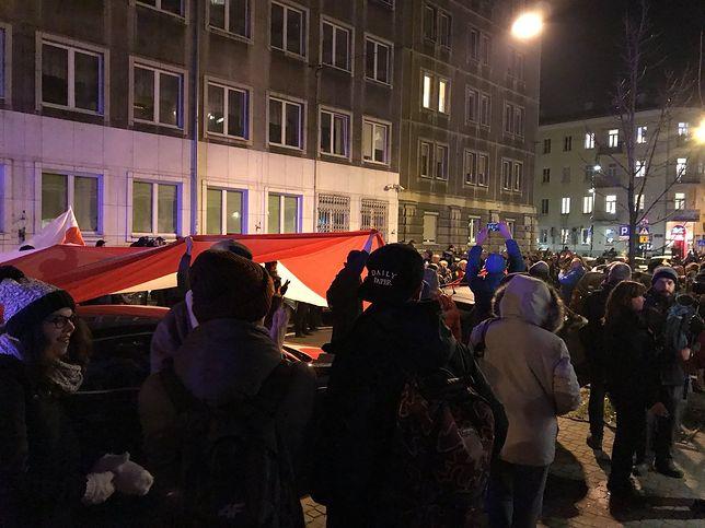Obywatele RP protestują.