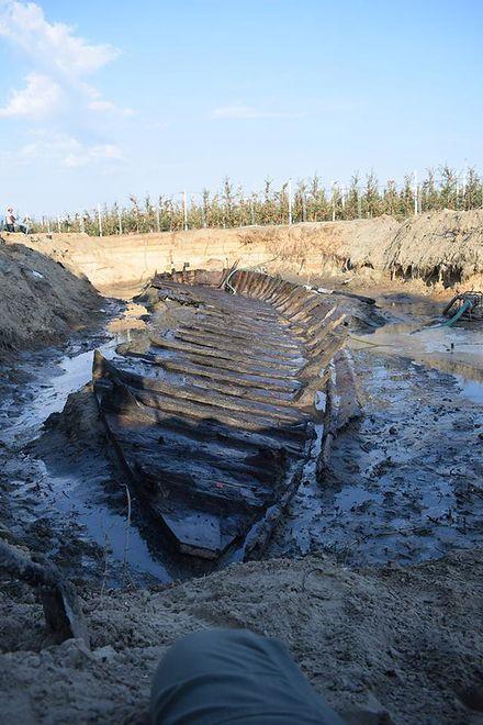 Czersk - rozpoczęto wydobycie szkuty z przełomu XV i XVI wieku.