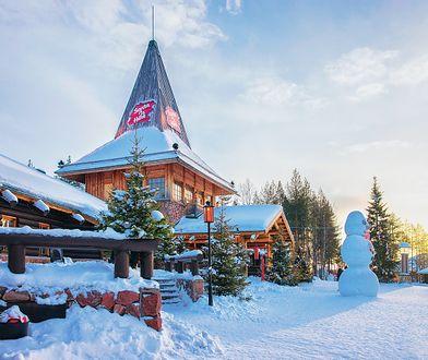 Gwarantowany śnieg pod koniec grudnia jest m.in w fińskim Rovaniemi, gdzie znajduje się Wioska Św. Mikołaja