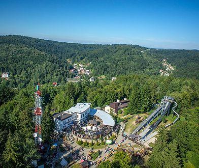 Kolej linowo-terenowa na Górę Parkową w Krynicy Zdroju to pierwsza tego typu kolej w Polsce, uruchomiona w 1937 r.