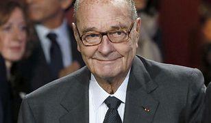 Jacques Chirac trafił do szpitala. Były prezydent Francji ma zapalenie płuc