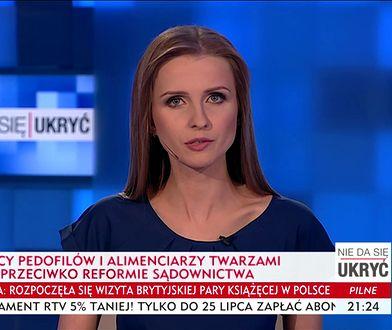 Tak zapowiedziano materiał Ewy Bugały w TVP Info.