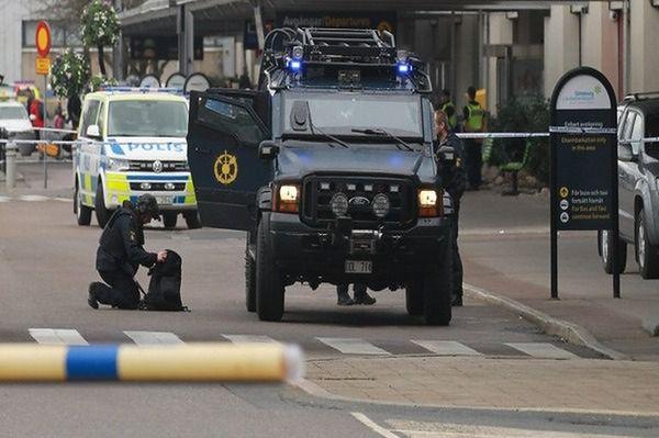 Strzelanina i eksplozja w szwedzkim mieście Malmo