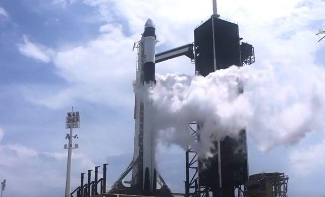Rakieta Falcon 9 wystartowała. Załoga Dragona jest już na orbicie