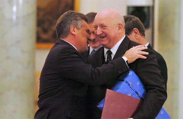Aleksander Kwaśniewski i nieżyjący już Józef Oleksy.