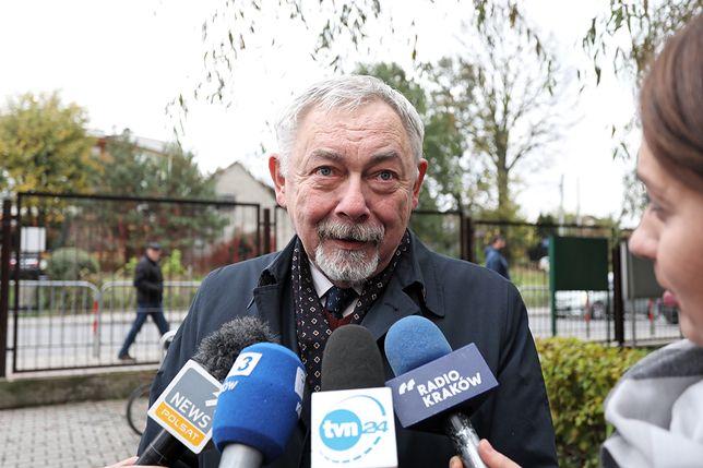 Prezydent Krakowa Jacek Majchrowski zmierzy się w II turze wyborów z Małgorzatą Wassermann