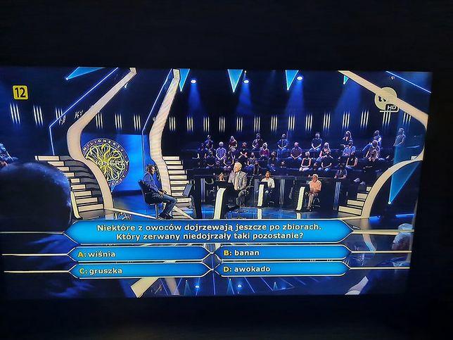Jak brzmiało pytanie za milion złotych?