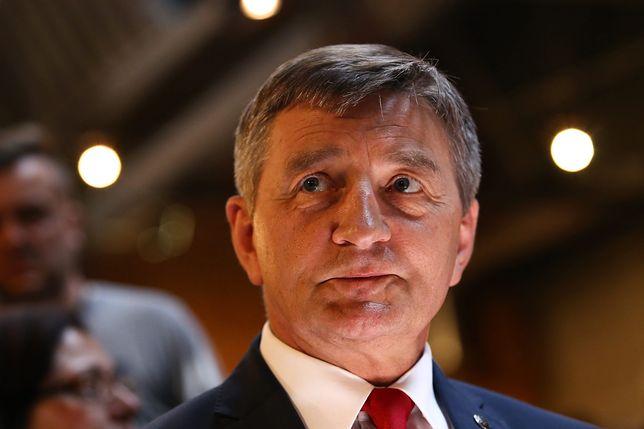 Początkowo Marek Kuchciński nie chciał wpuścić kobiet, ostatecznie pozwolił na to ich delegacji