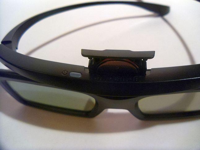 Bateria w okularach 3D