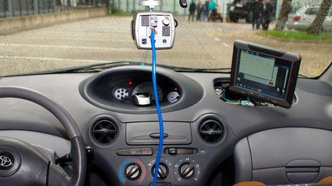 Jurek, czyli autonomiczne auto stworzone przez polskich studentów