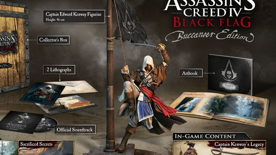 Nowy zwiastun Assassin's Creed IV: Black Flag — Buccaneer Edition Unboxing