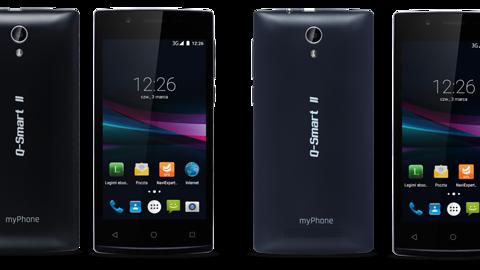 myPhone Q-Smart II za 279 zł od poniedziałku w Biedronce