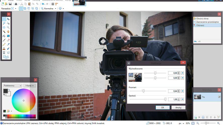 Paint.NET 4.0 wymaga Windows 7 SP1 i ma polski interfejs