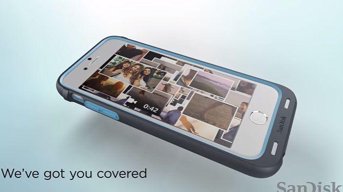 Etui SanDiska rozszerzy pamięć iPhone'a nawet o 128 GB