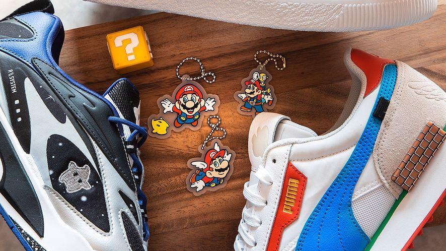 Buty Pumy z okazji 35. urodzin Super Mario