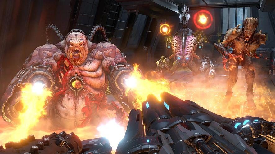 Silnik id Tech 7 w Doom Eternal wprowadza HDR i wynosi grafikę oraz wydajność na nowy poziom, fot. Bethesda