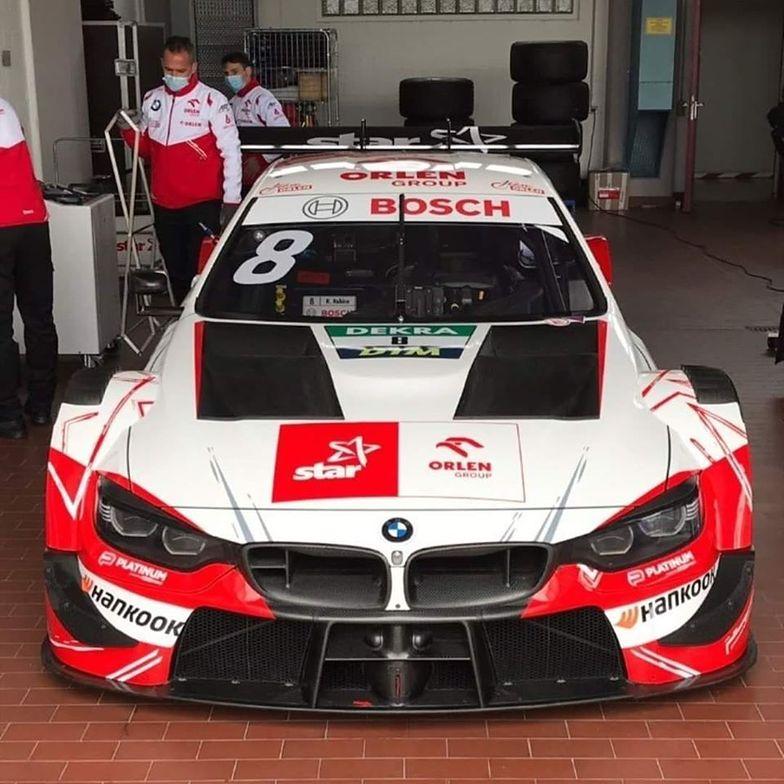 BMW M4 DTM - tym autem pojedzie Robert Kubica