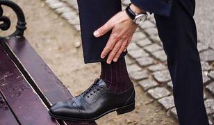Klasyczne męskie półbuty ze skóry to jeden z najbardziej klasycznych fasonów obuwia