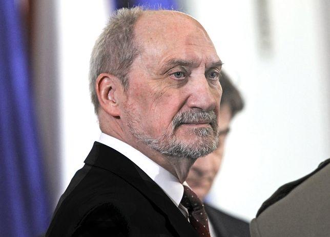 Antoni Macierewicz, były szef MON