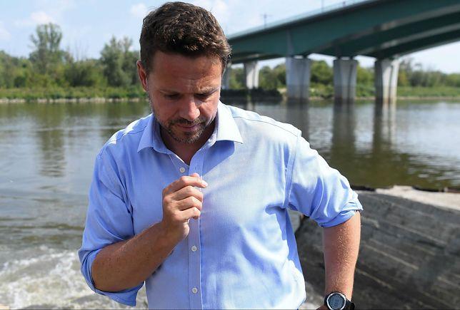 Awaria oczyszczalni ścieków Czajka. Inżynier wskazuje inną przyczynę niż podał Rafał Trzaskowski