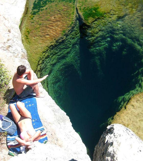 Jacob's Well, Teksas, USA