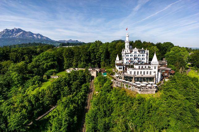 Atrakcje Lucerny - hotel Gütsch