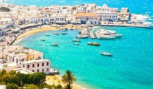 Greckie wyspy. Mykonos. Ulubione miejsce gwiazd