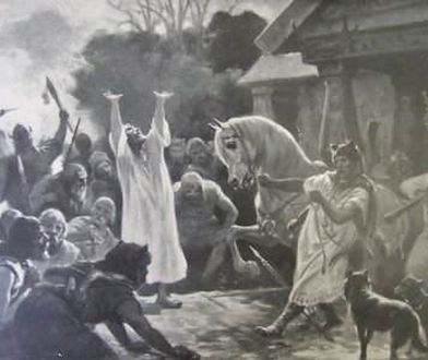 Czy pradawni Słowianie składali ofiary z ludzi?
