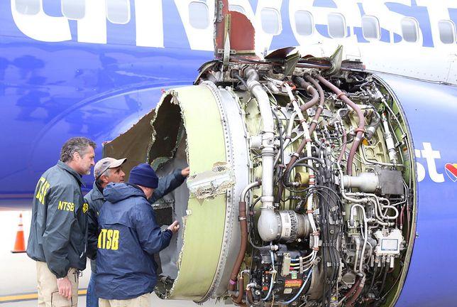 Wybuch silnika, dramat w samolocie. Władze USA podjęły decyzję