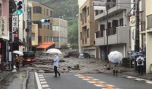 Pogoda szaleje. Błotne lawiny zniszczyły japońskie Atami