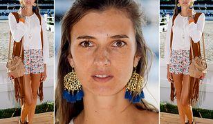 LOOK OF THE DAY: Kamila Szczawińska w stylu boho
