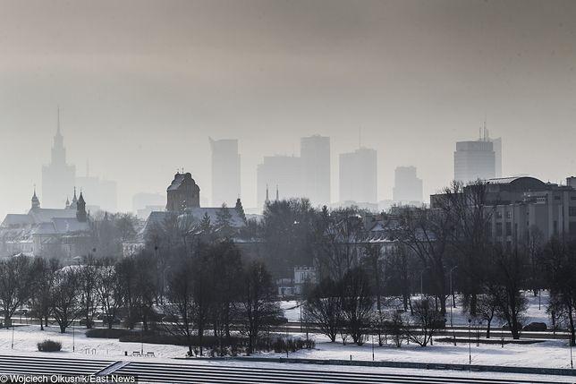 Smog Warszawa - 1 luty. Sprawdź, jaka jest dziś jakość powietrza