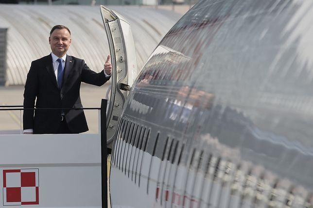Andrzej Duda przed podróżą.