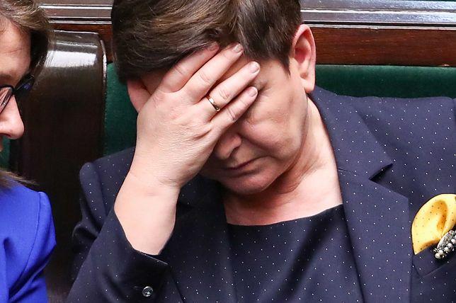 """Beata Szydło przegrała na życzenie PiS - donosi """"Wprost"""""""