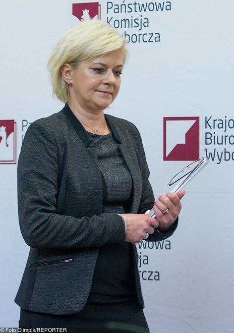 Beata Tokaj przestała pełnić funkcję szefowej KBW wiosną 2018 r.