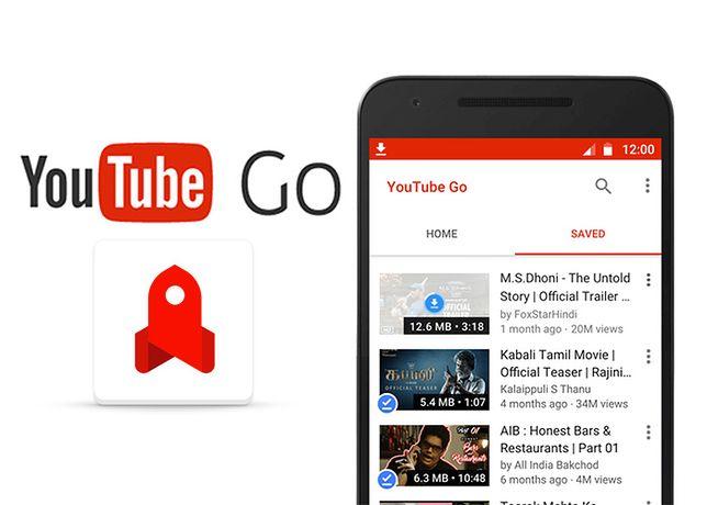 YouTube Go - oficjalna aplikacja z opcją pobierania filmów