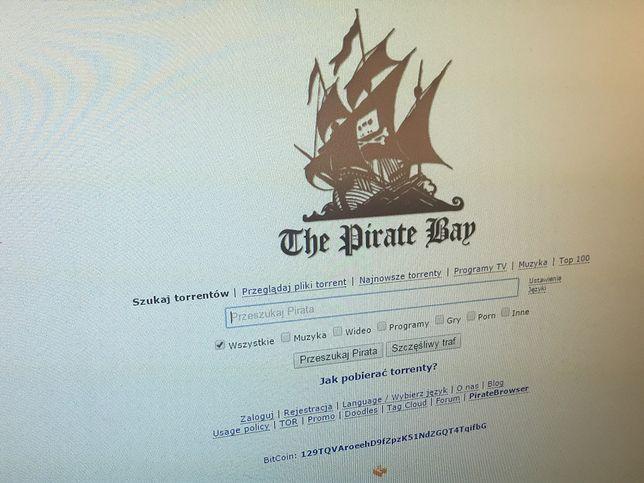 The Pirate Bay to dalej popularny serwis z torrentami