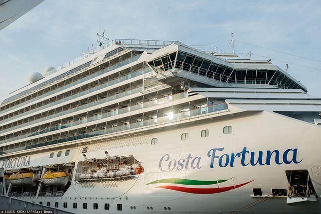 Koronawirus. Pasażerowie Costa Fortuna wychodzą na ląd w Singapurze. Na pokładzie ok. 100 Polaków