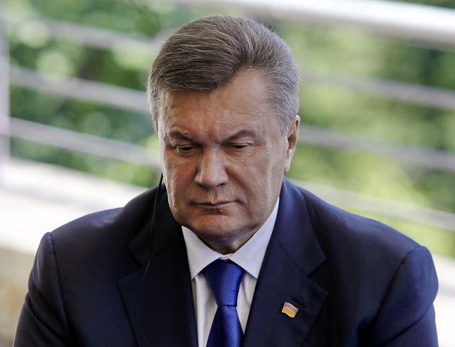 Ukraina: były prezydent Wiktor Janukowycz skazany za zdradę stanu