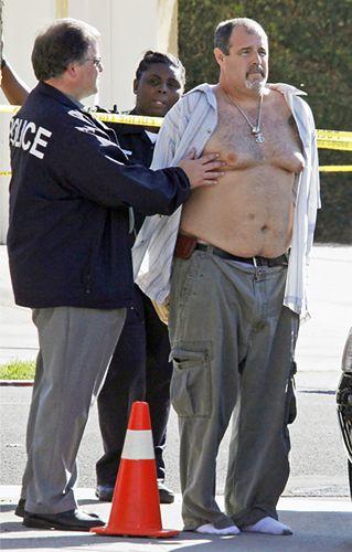 Szaleniec zabił 8 osób w Kalifornii - zdjęcia