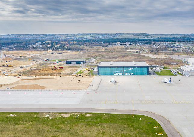 Śląskie. Budowę trzeciego hangaru obsługi technicznej rozpoczęło zarządzające portem lotniczym Katowice Górnośląskie Towarzystwo Lotnicze.