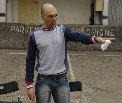 Konrad Niewolski jednak wstrzymał prace nad filmem