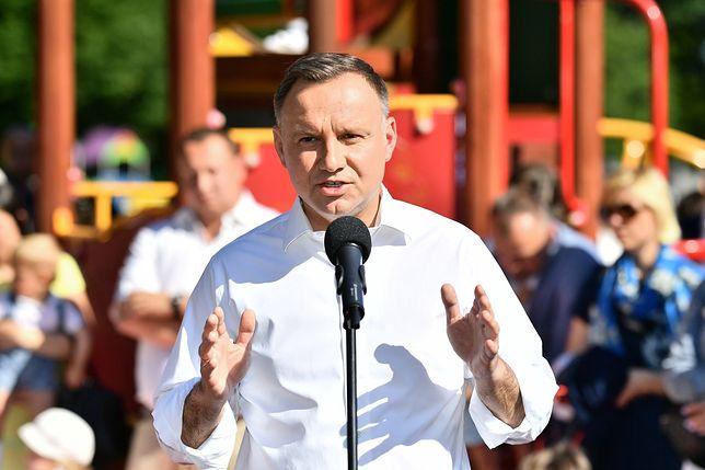 Wybory 2020. Prezydent Andrzej Duda proponuje zmiany w konstytucji. Są pierwsze komentarze